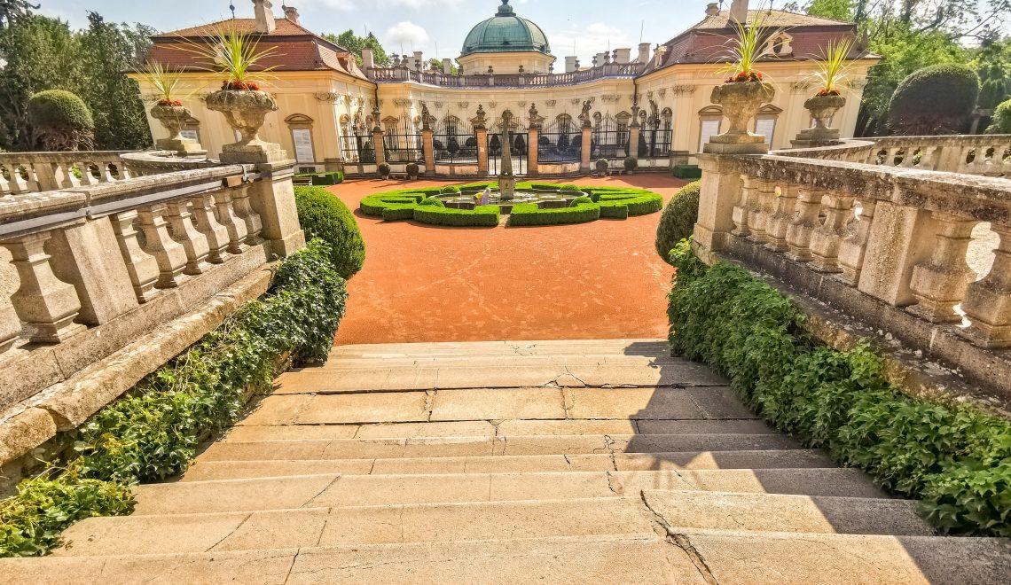 Zámok Buchlovice – barokový zámok postavený z lásky