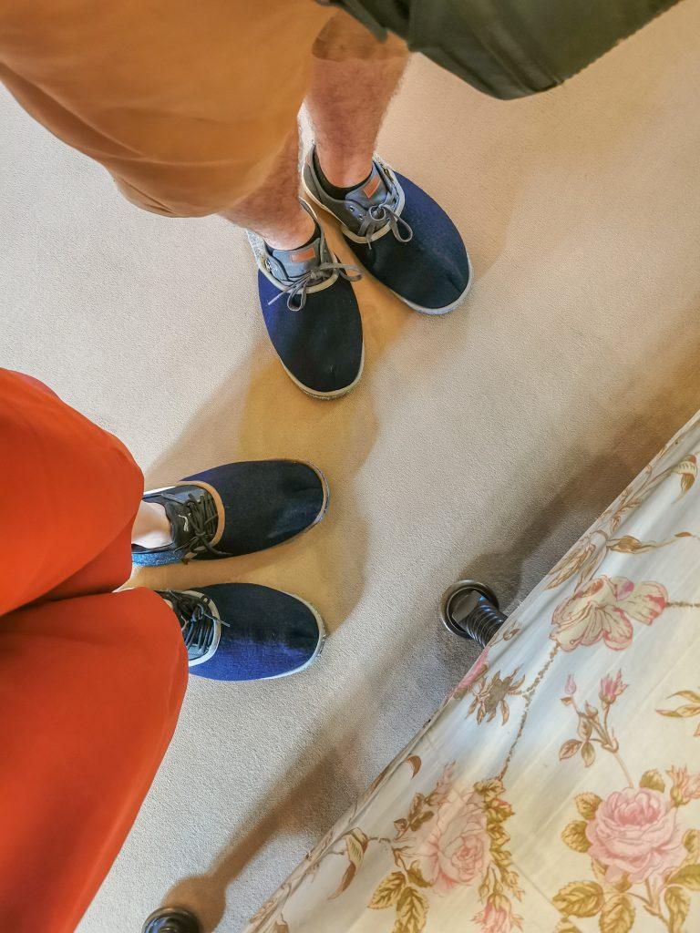 Na prehliadke v papučiach
