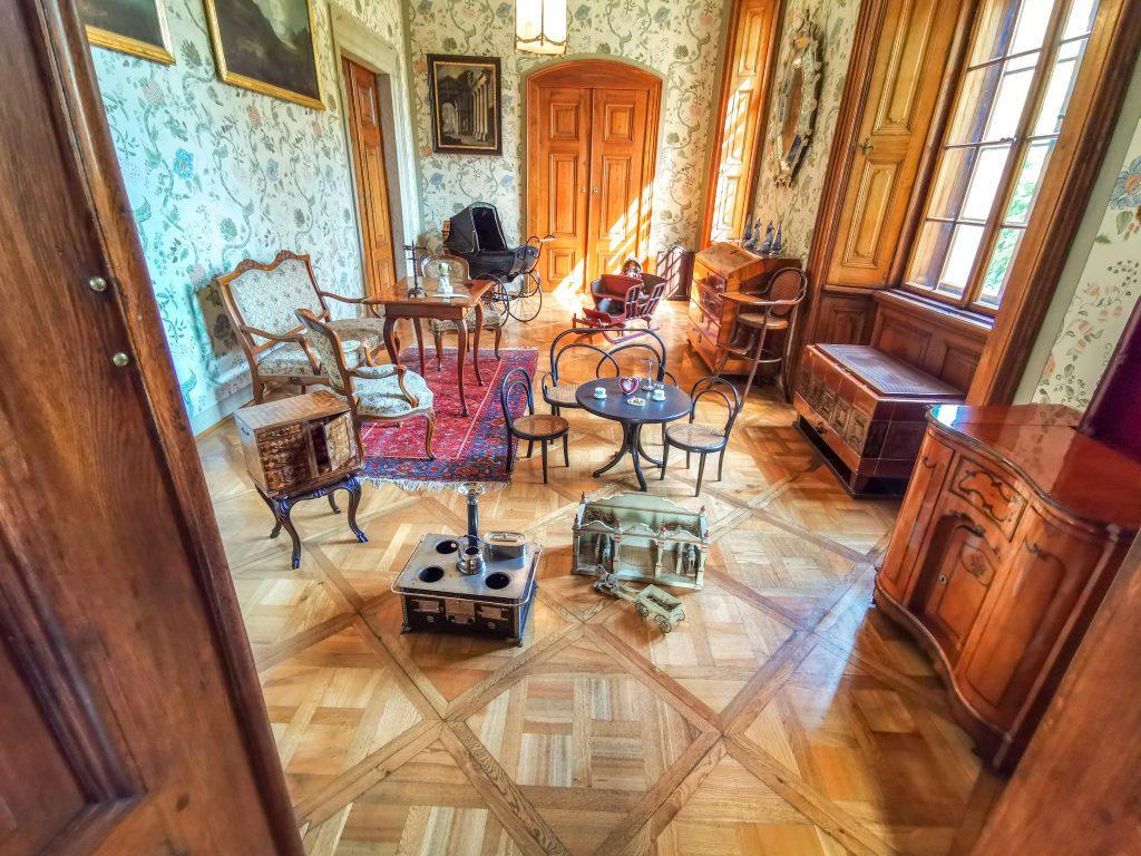 Interiér Zámku Buchlovice