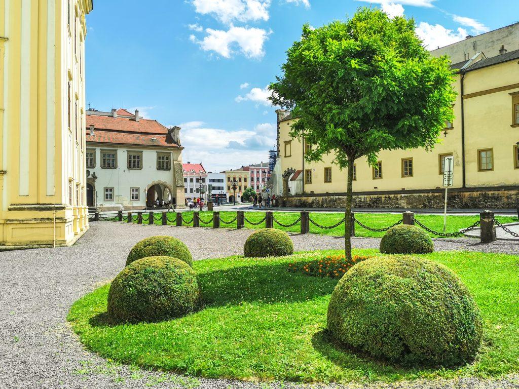 Arcibiskupský zámok Kroměříž - Vstup do zámku