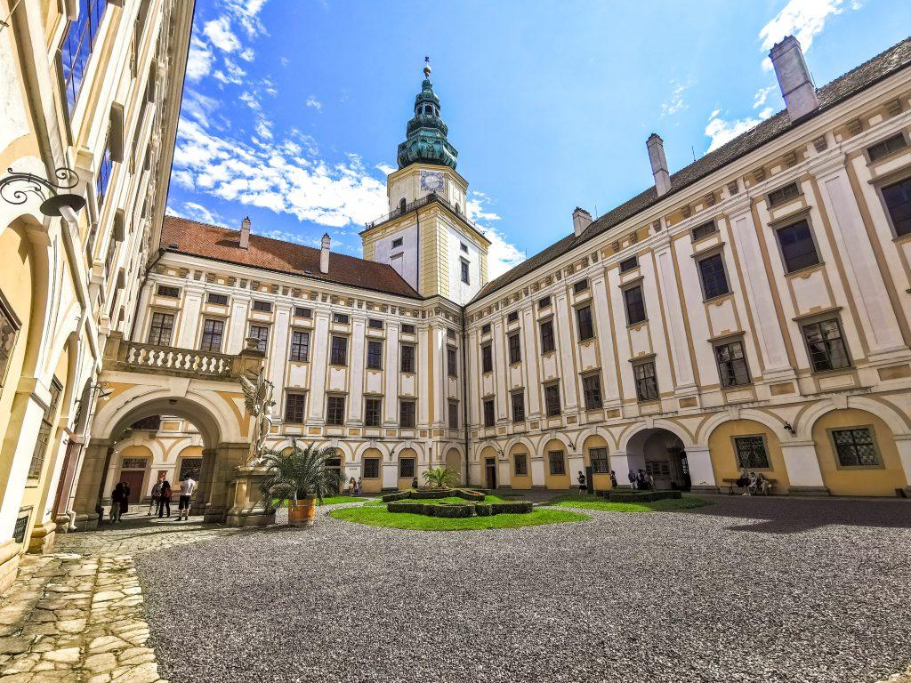 Arcibiskupský zámok Kroměříž - nádvorie