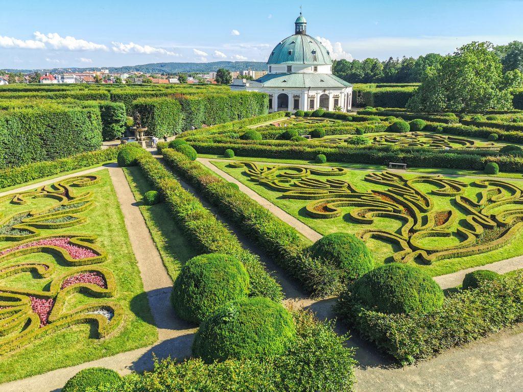 Květná zahrada Kroměříž - Rotunda z Kolonády