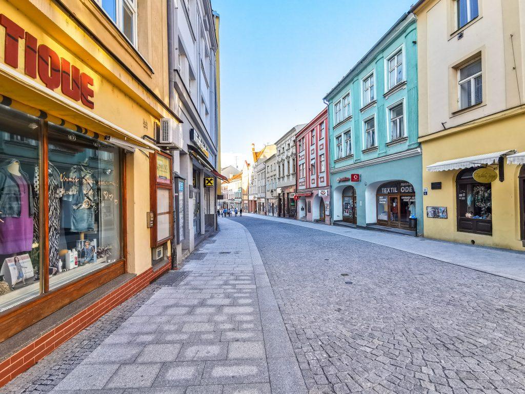 Kroměříž - prechádzka mestom