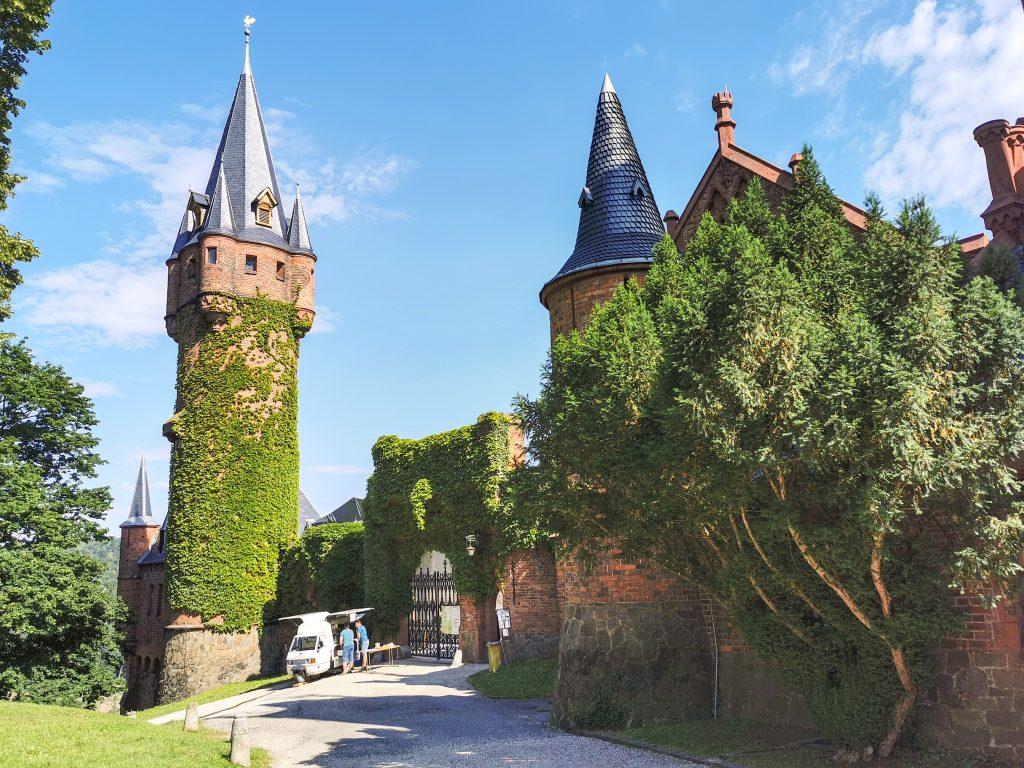 Zámok Hradec nad Moravicí - Veža ako z rozprávky