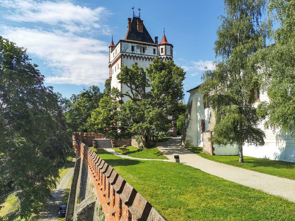 Zámok Hradec nad Moravicí - Biela veža