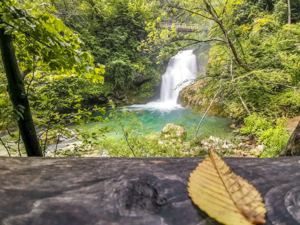 Tiesňava Vintgar - Vodopád Šum