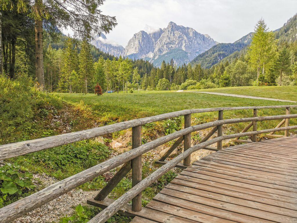 Vršič Pass - Jazero Jasna