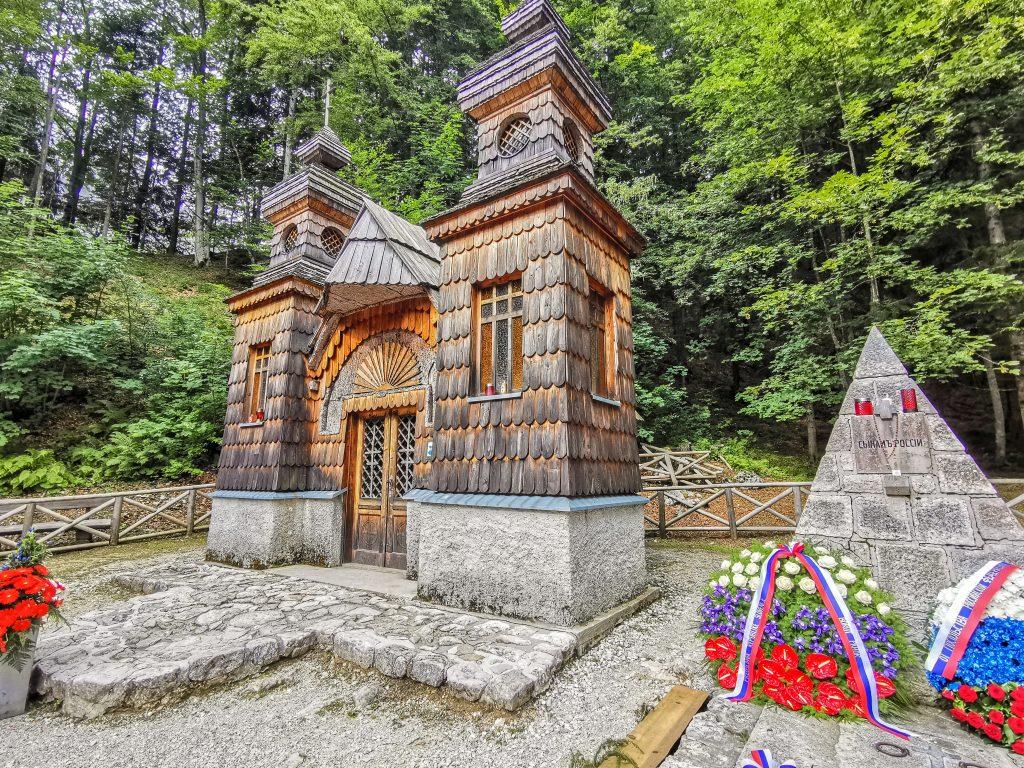 Vršič Pass - Ruská kaplnka
