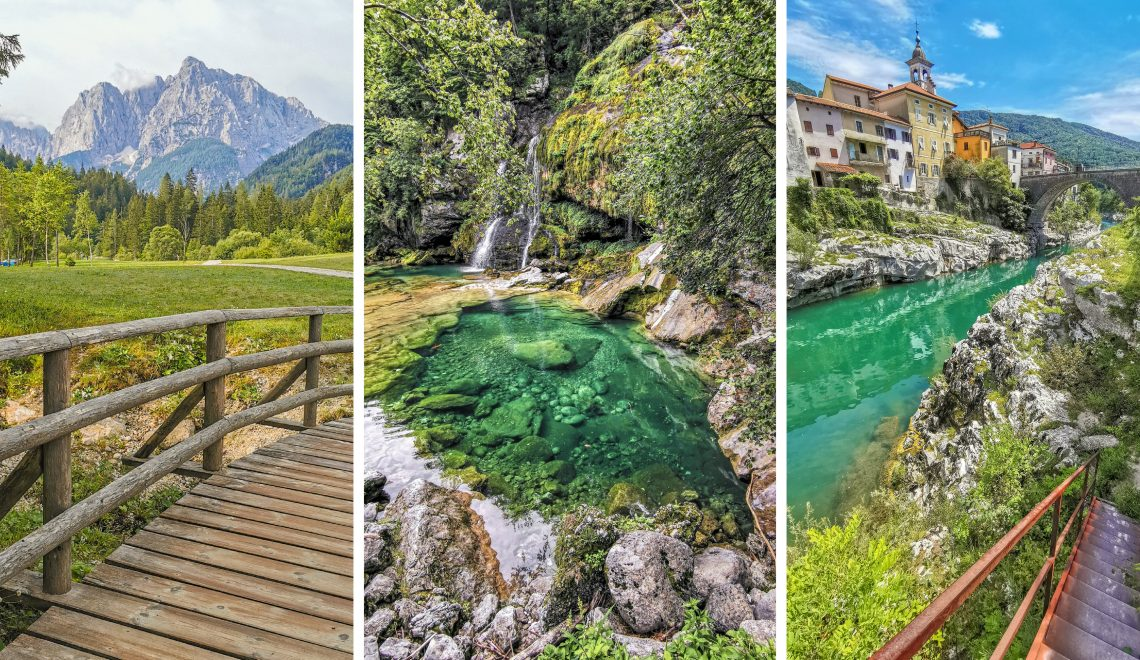 Vršič pass, Virje a Kanal Ob Soči