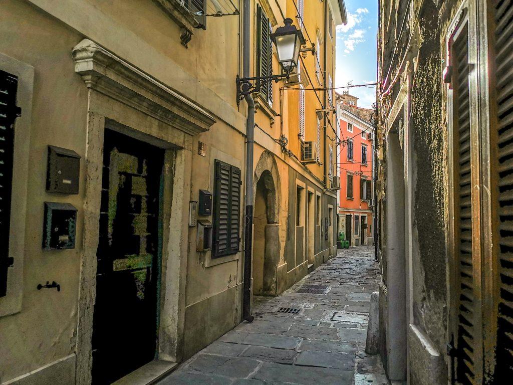 Starobylé uličky mestečka