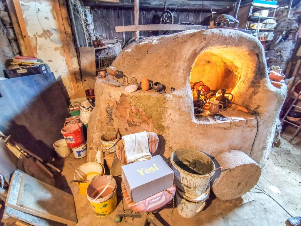 Za horami, za dolami: Pec na pálenie u pána Fialu v dielničke