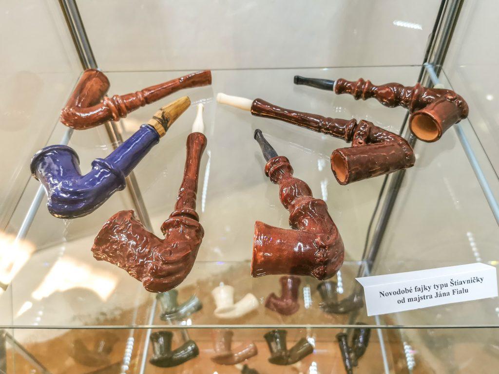 Starodávne fajky štiavničky
