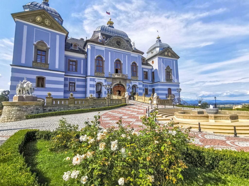 Za horami, za dolami: Zámocký hotel Galicia Nueva