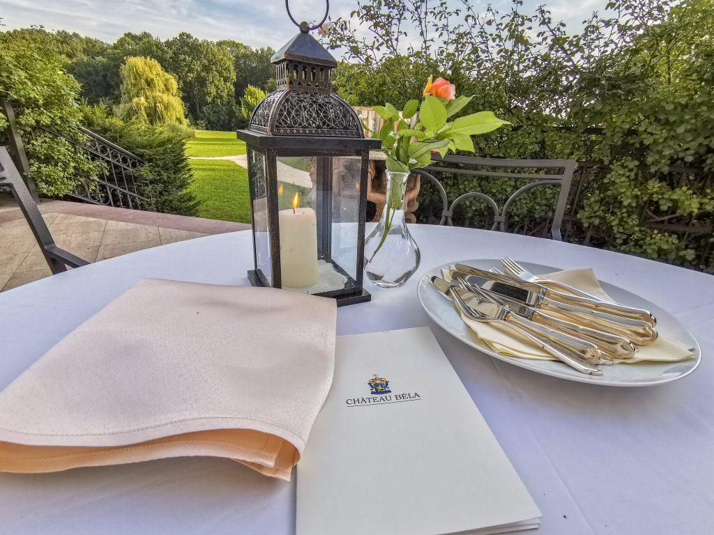 Večera v Château Belá