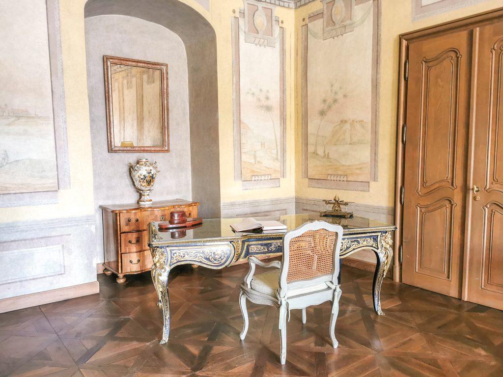 Château Belá - Jediný pôvodný kus nábytku