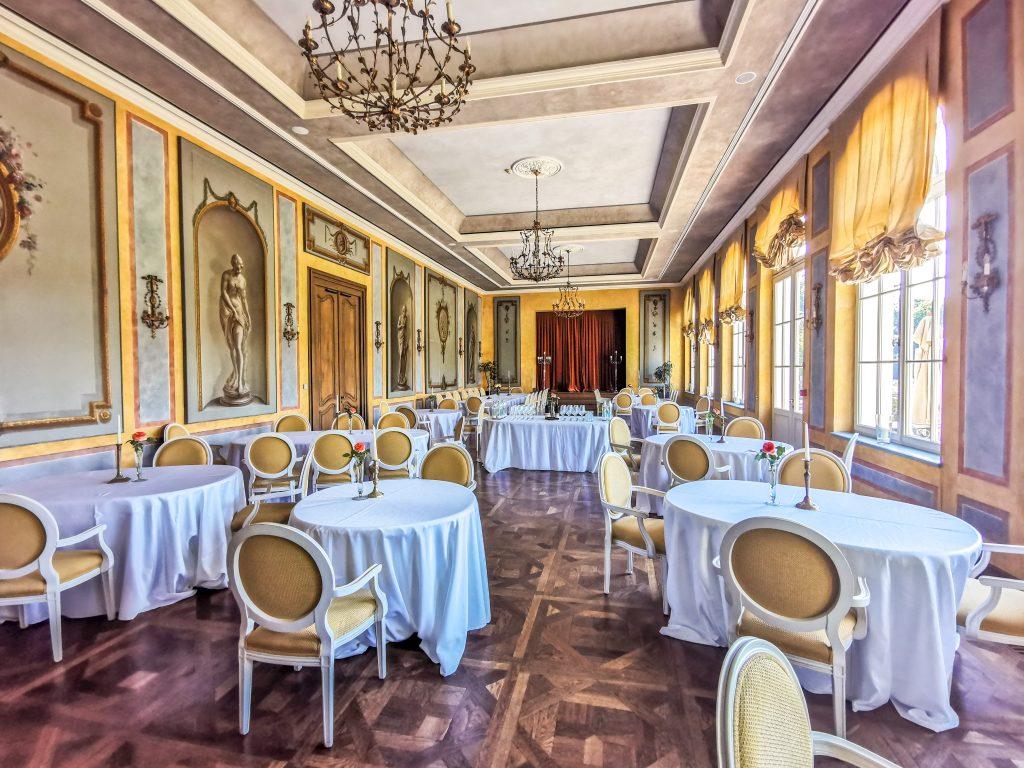 Château Belá - Orangeria slúži hlavne pre veľké podujatia