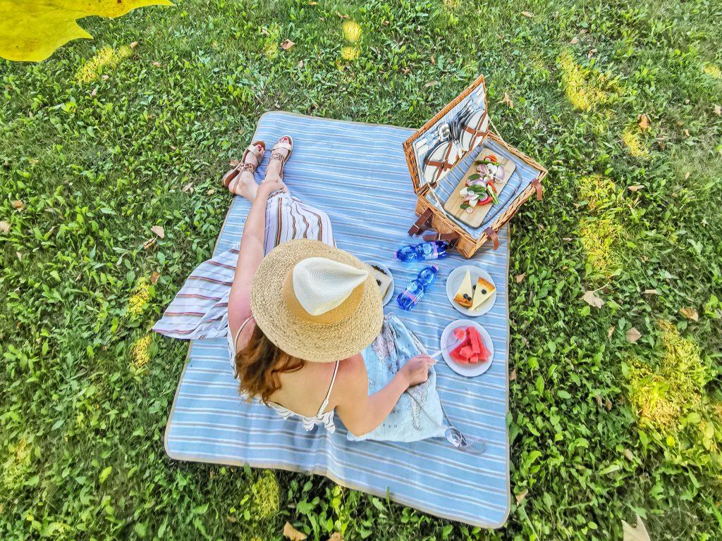 Majka na pikniku