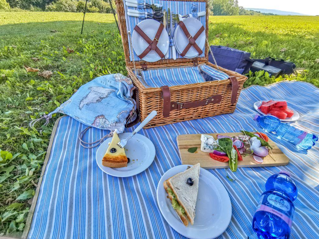 V parku si viete urobiť aj piknik