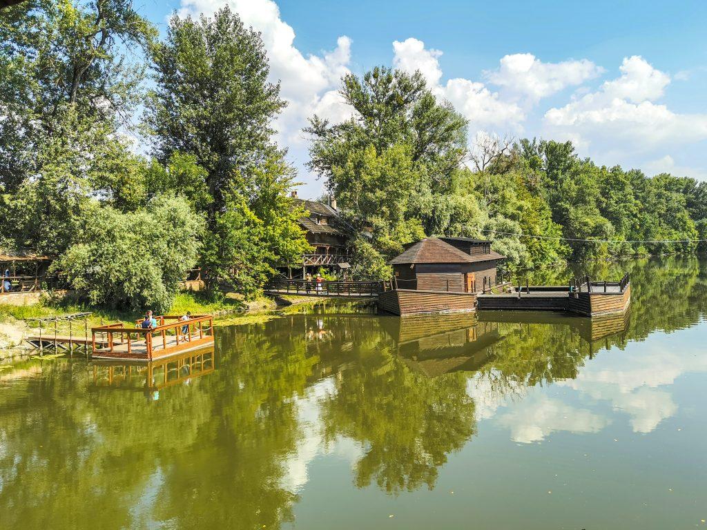 Vodné mlyny na Malom Dunaji - Lodný mlyn Kolárovo