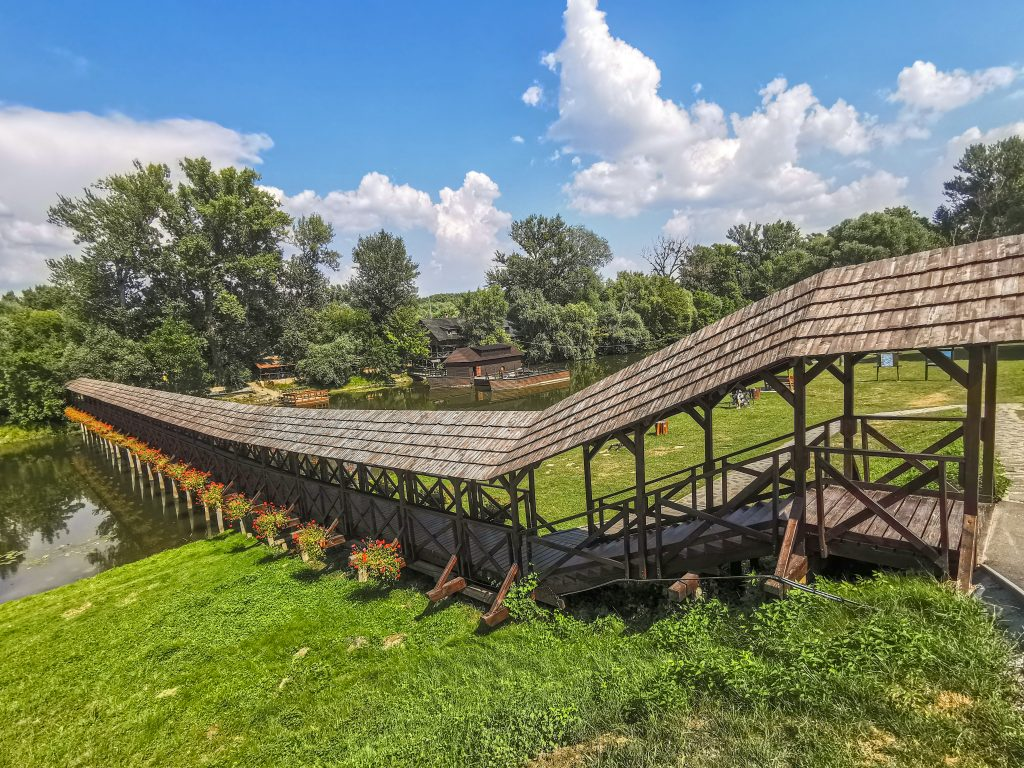 Drevený most Kolárovo