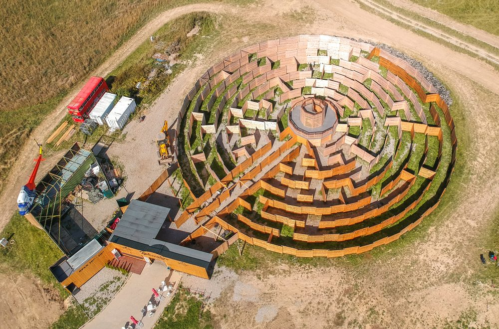 Najväčšie drevené bludisko na Slovensku nájdete na Liptove!