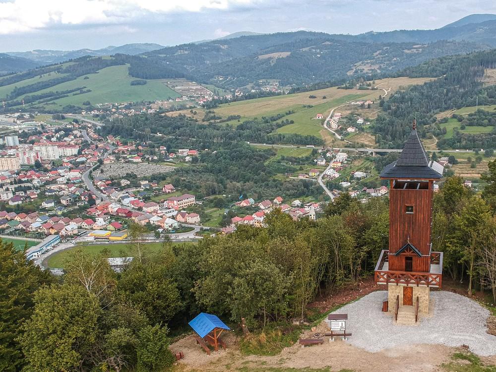 Rozhľadňa u Jantov v Krásne nad Kysucou