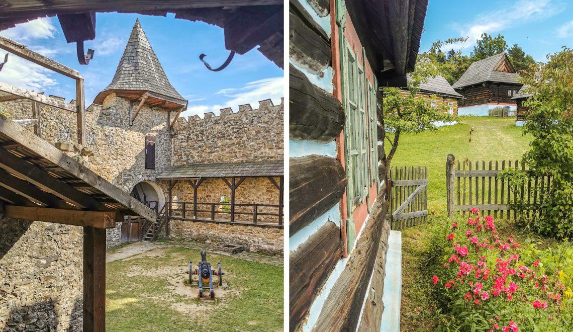 Skanzen a hrad Stará Ľubovňa
