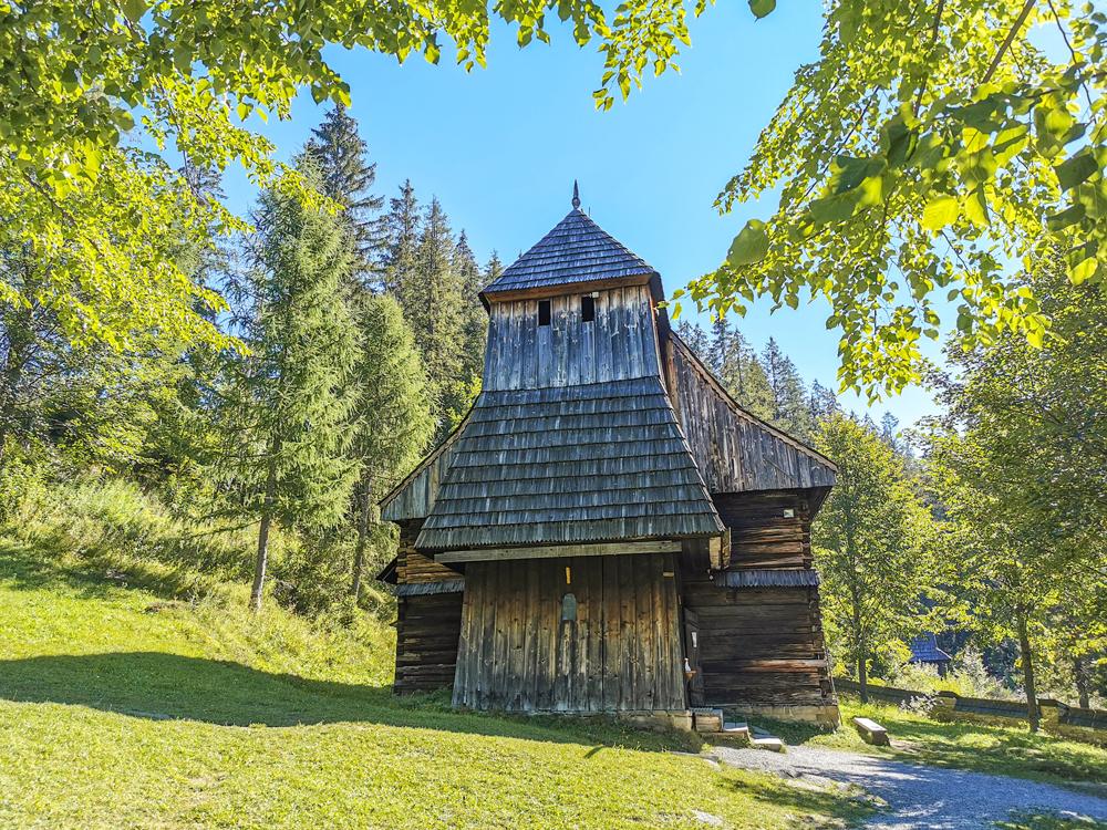 Skanzen Zuberec - Kostol sv. Alžbety Uhorskej