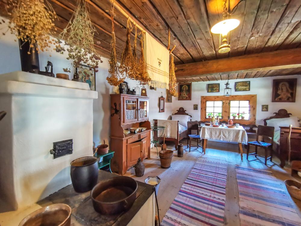 Múzeum oravskej dediny - Interiér príbytkov