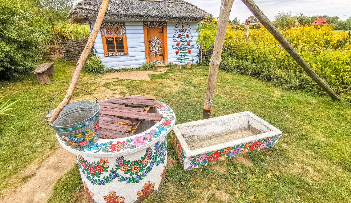 Zalipie – Maľovaná dedinka plná umeleckých malieb ako z rozprávky