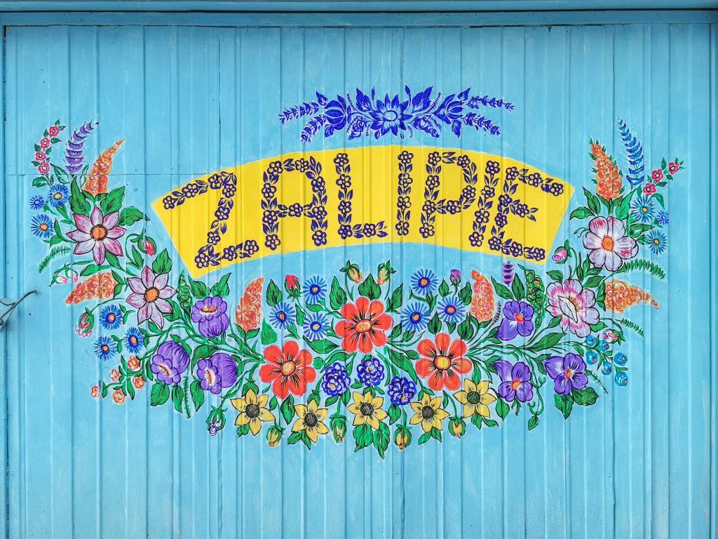 Zalipie - maľovaná dedinka v Poľsku