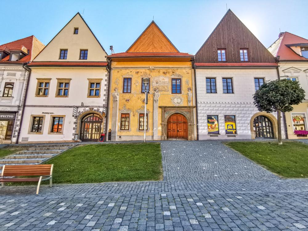 Bardejov - Meštianske domy
