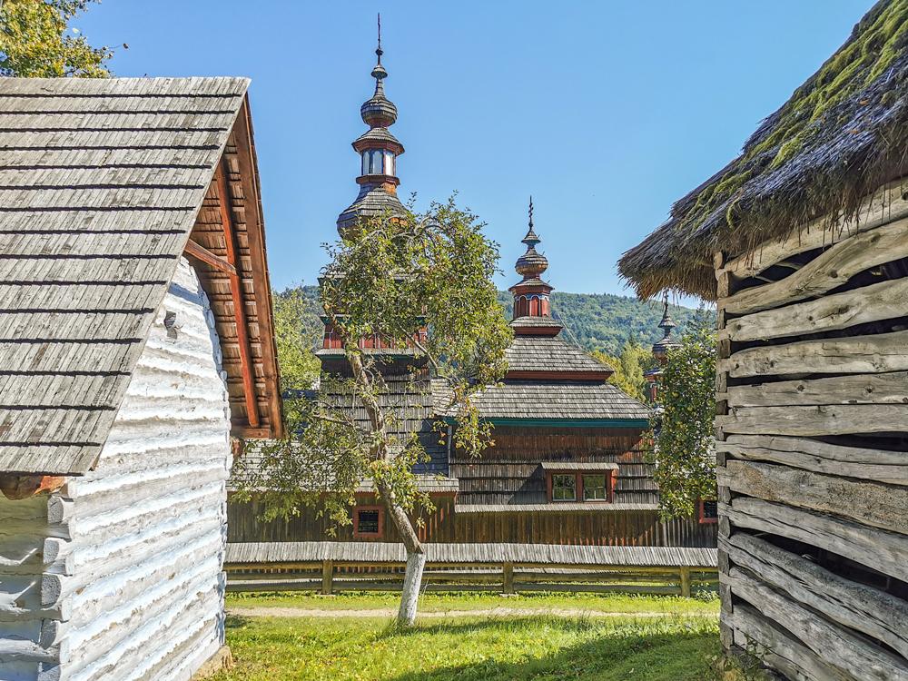 Skanzen Bardejov - Múzeum ľudovej architektúry