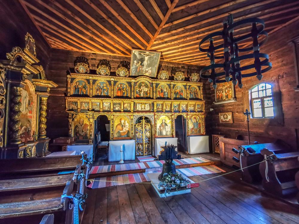 Skanzen Stará Ľubovňa - Gréckokatolický kostolík z Matysovej