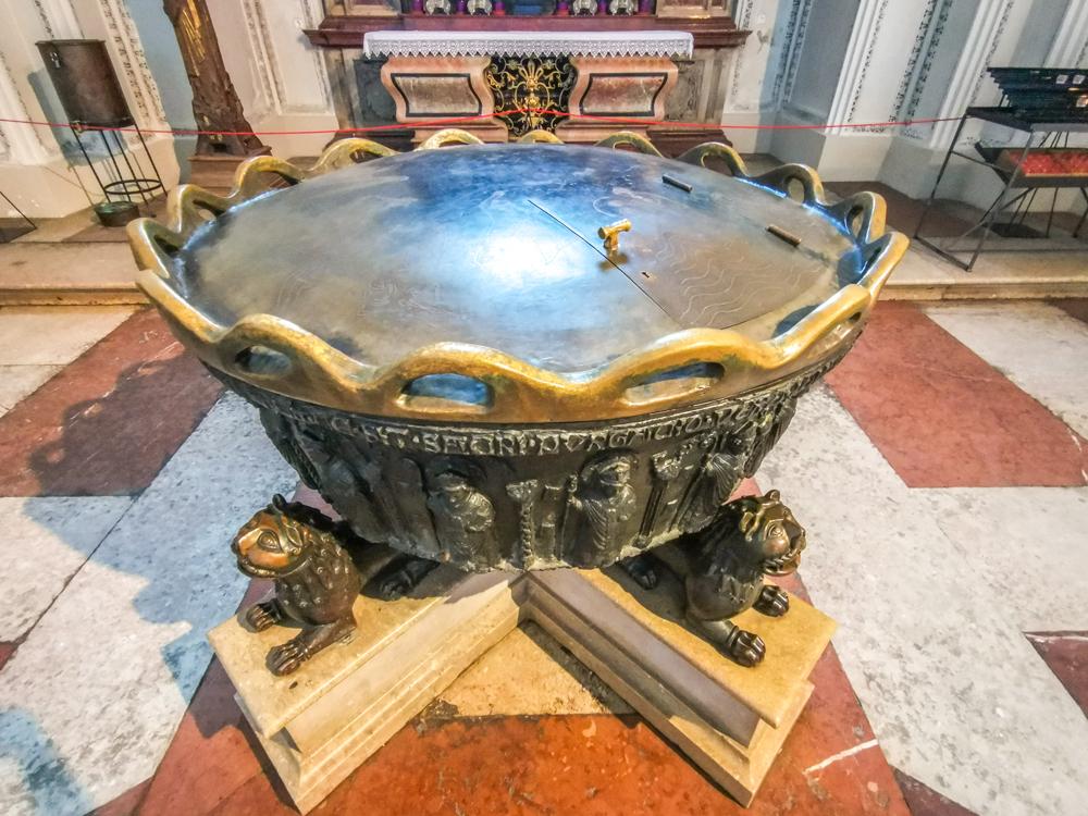 Katedrála svätého Ruperta a Virgila - krstelnica, v ktorej pokrstili Mozarta