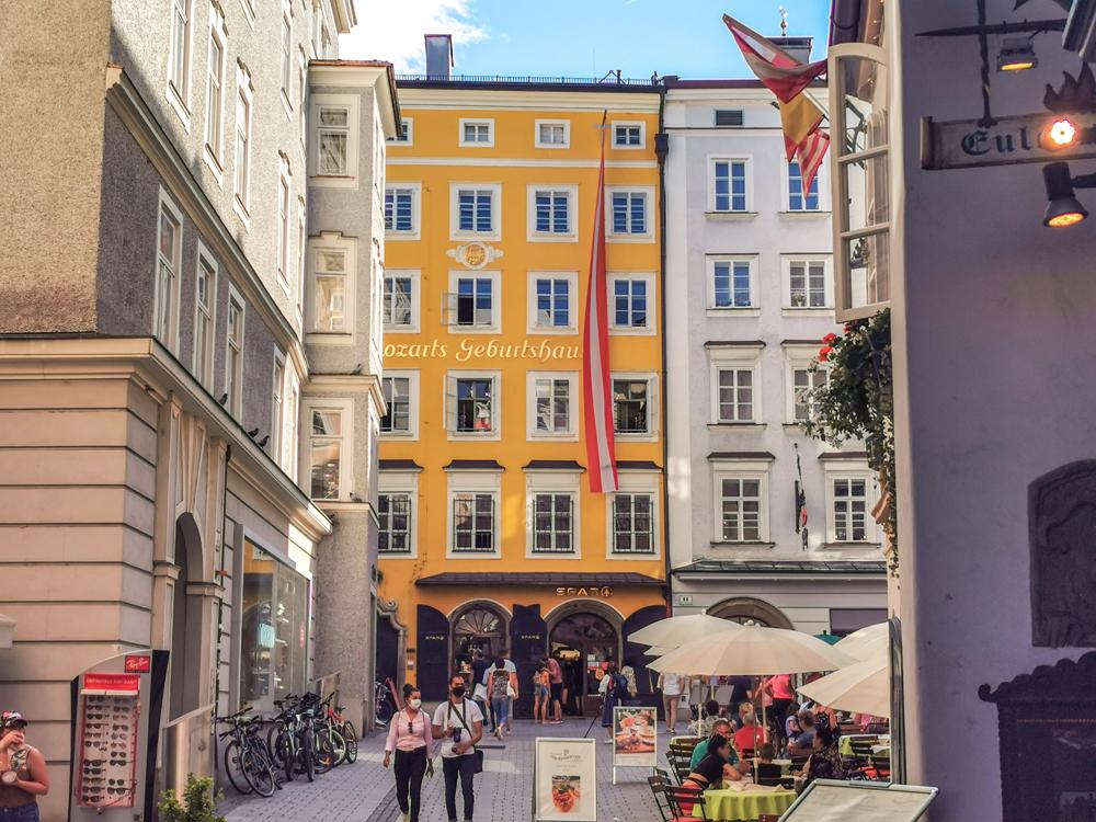 Salzburg - Mozartov rodný dom