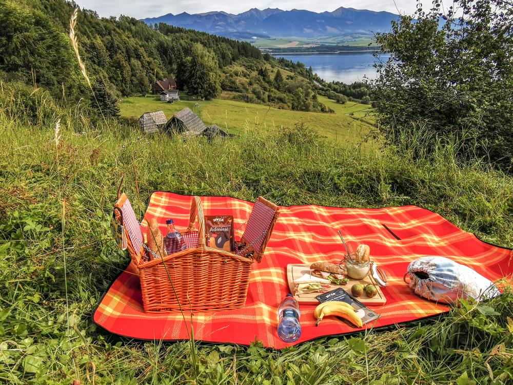 Piknik v lone prírody na Liptove