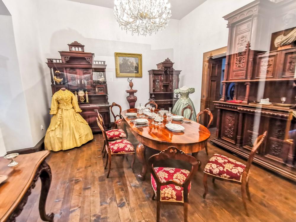 Expozícia bytovej kultúry šľachtických sídel