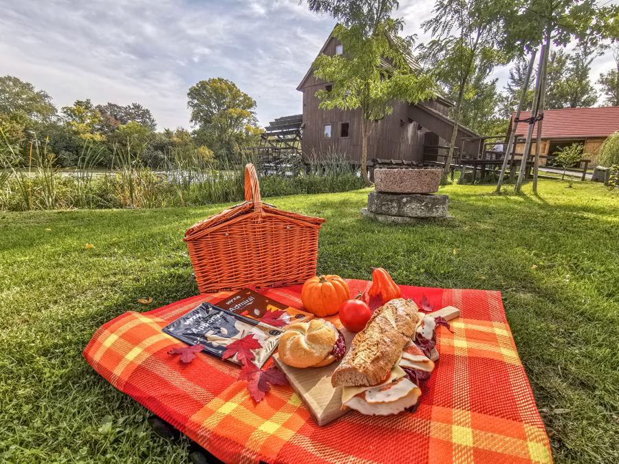 Vodný mlyn Jelka - piknik