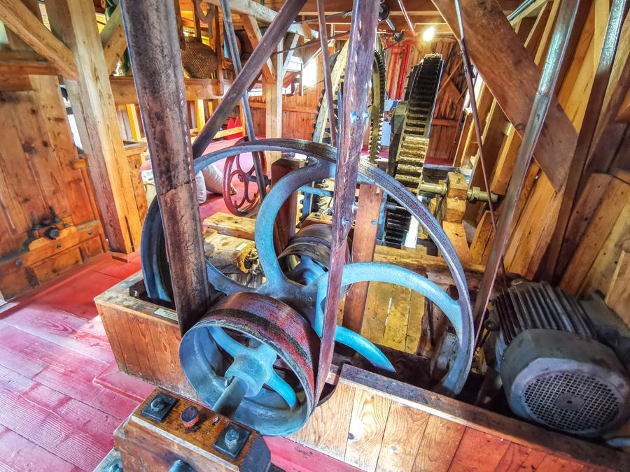 Prehliadka mlyna