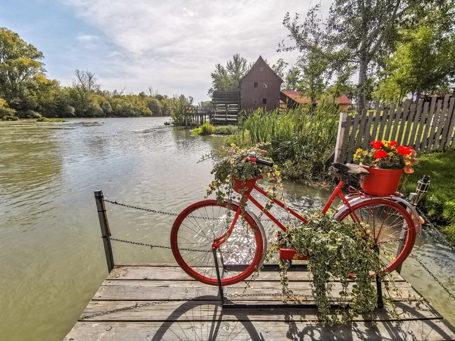 Vodné mlyny na Malom Dunaji - Jelka