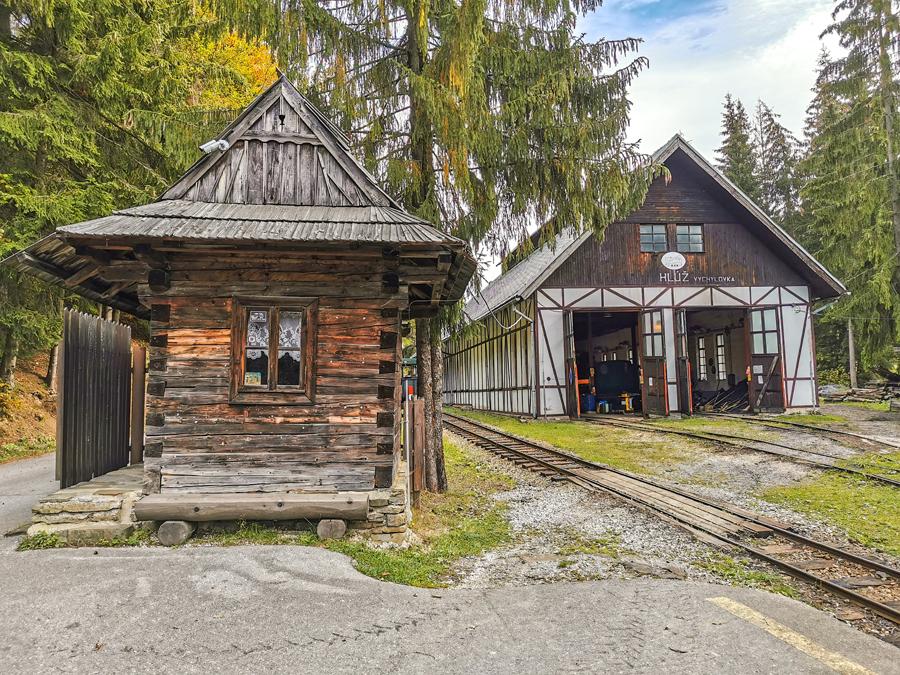 Historická železnica - depo