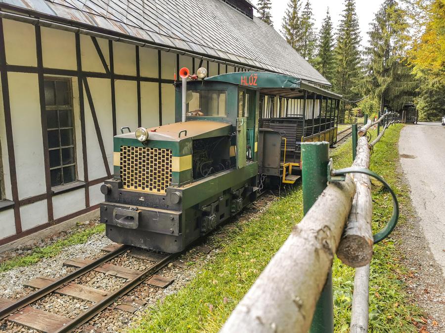 Vychylovka - Historická lesná úvraťová železnica
