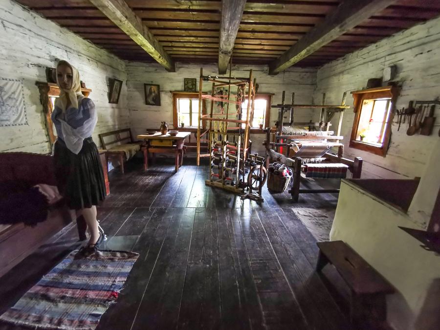 Múzeum kysuckej dediny - interiér domov