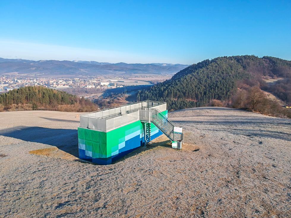 Bytča - Rozhľadňa nad Hrabovým