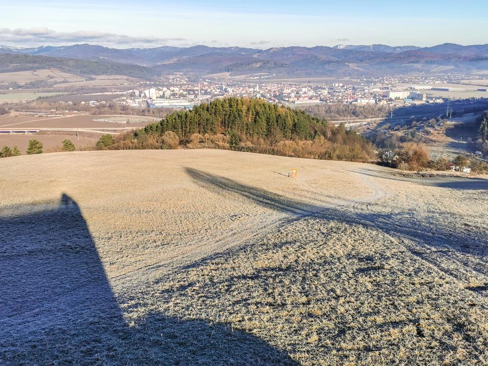 Rozhľadňa nad Hrabovým - Výhľad na Bytču