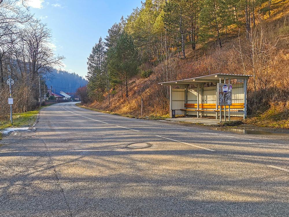 Lietava - autobusová zastávka
