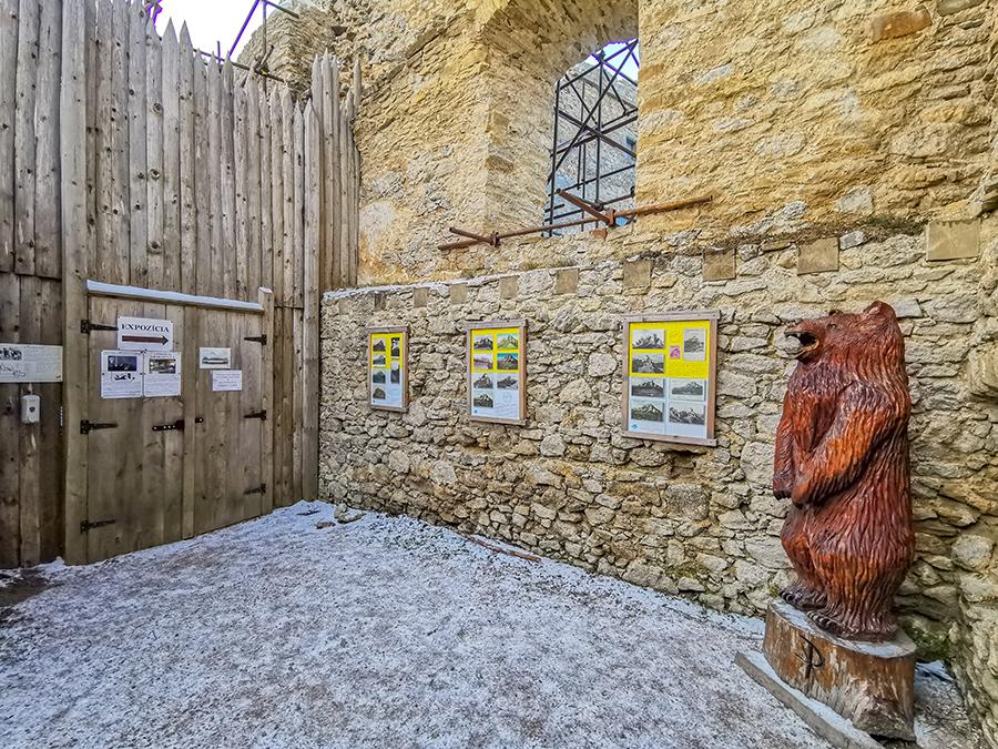Expozícia hradu