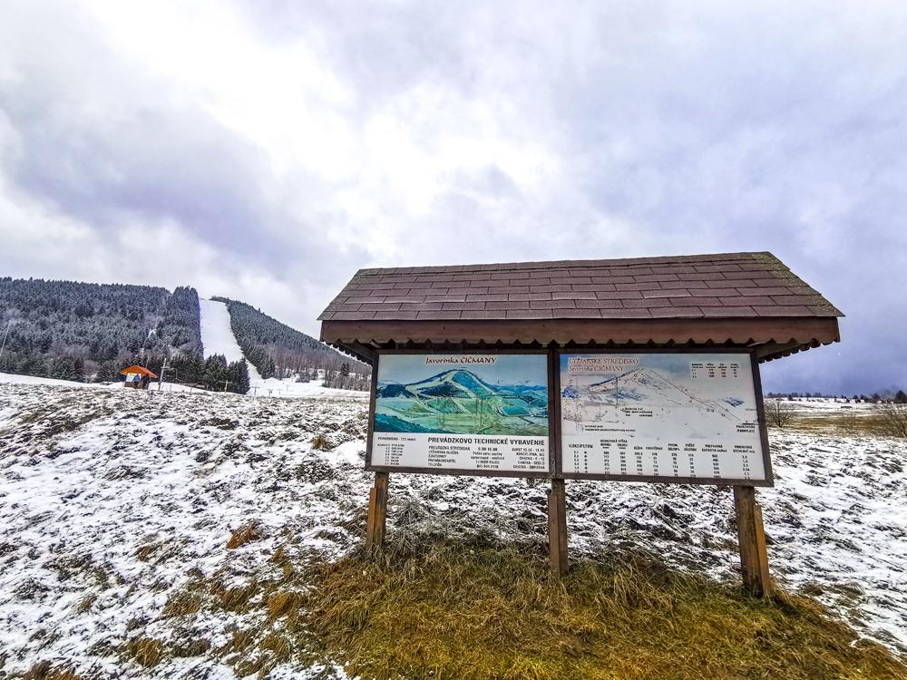 Lyžiarske stredisko Javorinka Čičmany
