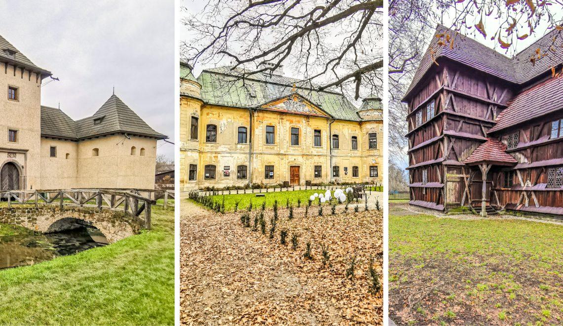 Hronsek – Drevený artikulárny kostol, Vodný Hrad  a kaštieľ